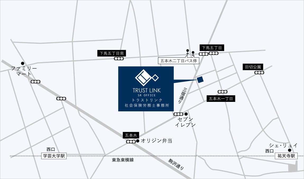 東京都目黒区五本木2-3-12 QUAD GOHONGI 203号室